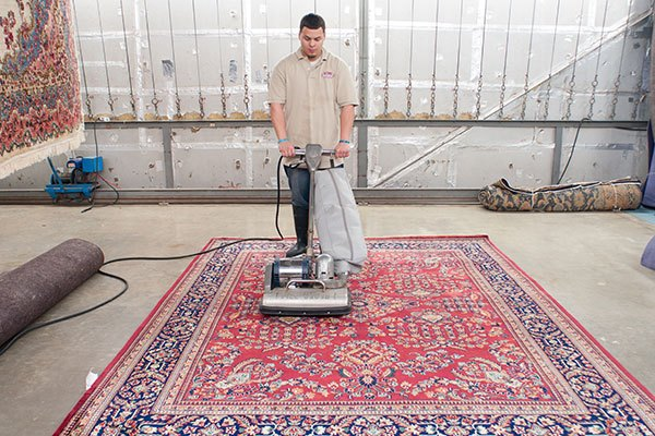 To complete: A pile brush and HEPA vacuuming.