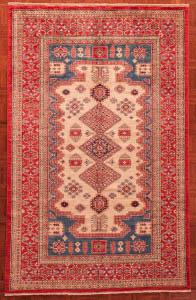 Pakistani Kazak Tribal Rug 7947