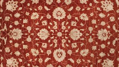 Informal Floral Oriental Rugs